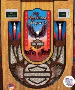 Jukebox Rock-ola CD Harley Davidson gitter