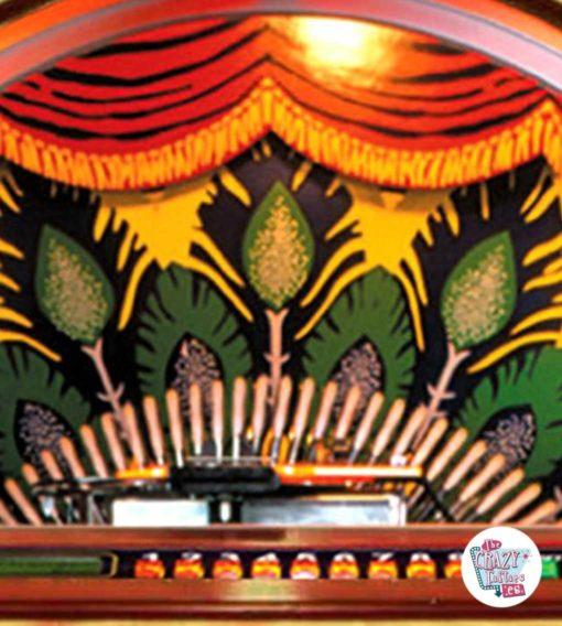Jukebox Rock-ola CD Peacock back