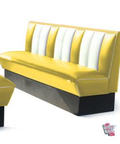 Simples banco Retro American Diner assentos 4 HW180