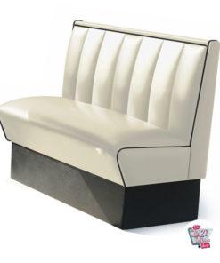 Simples banco Retro American Diner assentos 2 HW120