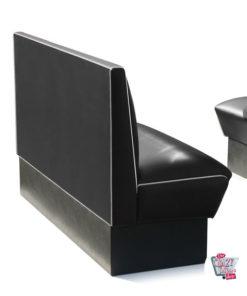 Simples banco Retro American Diner assentos 3 HW150