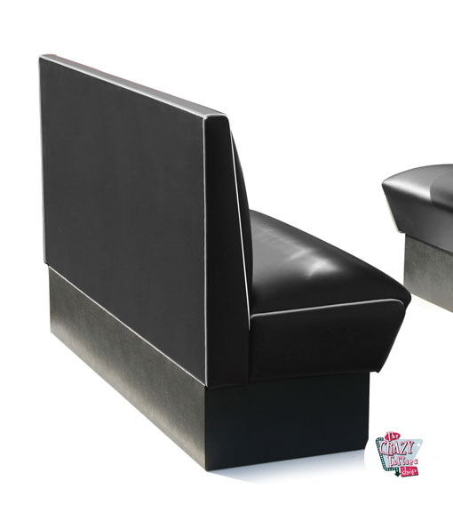 Simple banc American Retro Diner sièges 3 HW150