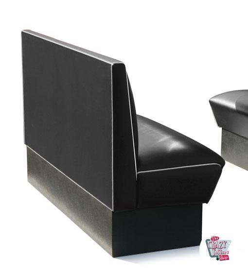 Outstanding Banco Retro Diner Americano Simple 3 Plazas Creativecarmelina Interior Chair Design Creativecarmelinacom