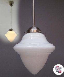 Vintage Eichel Lampe 22