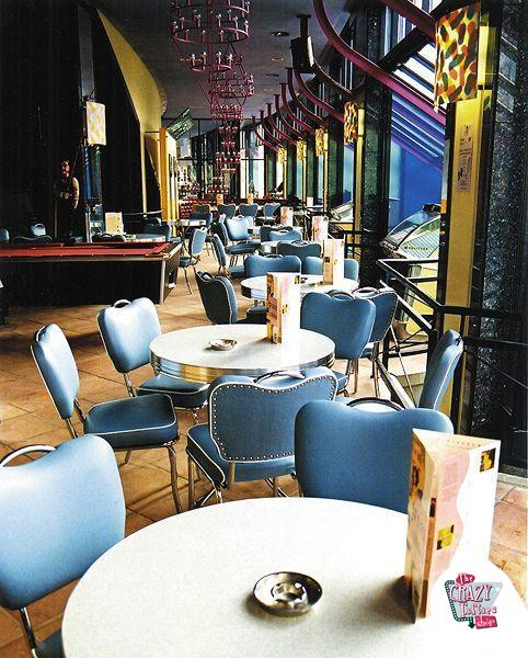 Mesa Retro Diner Redonda TO19