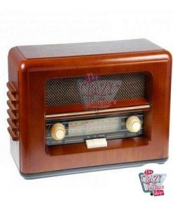 Retro Radio Buttons Holz