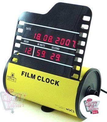 Retro Relógio Reel Fotos