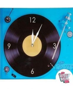Retro Turntable Clock
