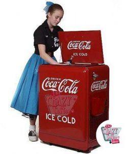 Retro Coca-Cola di raffreddamento