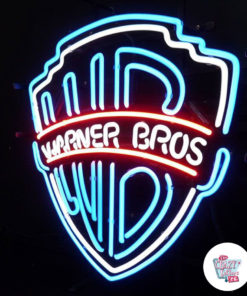 Neon Warner Bros on poster