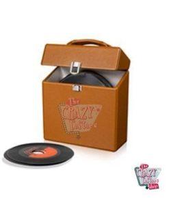 Crosley dokumentmappe Vinyls 45 Tostado