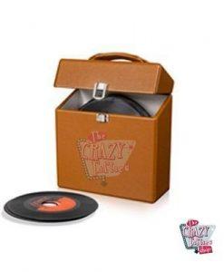 Crosley briefcase Vinyls 45 Tostado