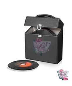 Crosley dokumentmappe Black Vinyls 45