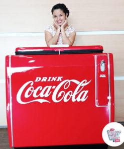 Retro Coca-cola fridge