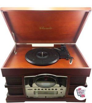 Vintage Retro Plattenspieler
