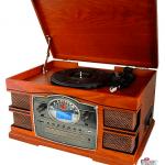 Vinyl 33 45-78-RPM. ago diamante. lettore CD, USB, SD Card, funzione di registrazione.