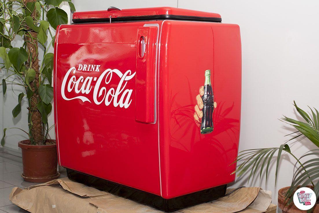 Amerikanischer Kühlschrank Coca Cola : Retro kühlschrank schön architektur kühlschrank freistehend retro
