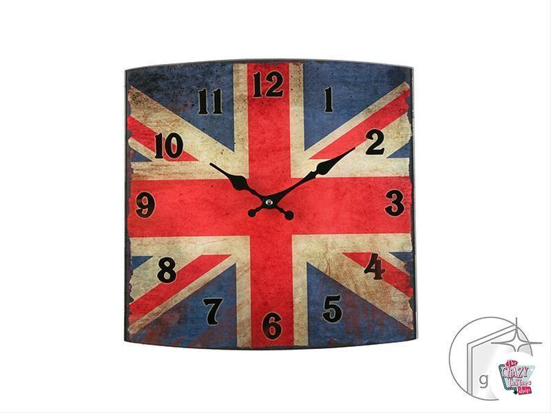 Reloj Retro Inglés