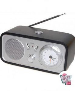 Radio Despertador Retro Eco-Duet