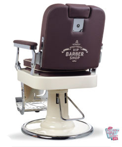 Backrest Barber Chair Retro Elegance