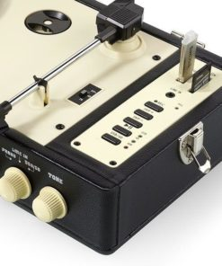 Tocadiscos Retro CR40 Plus Negro