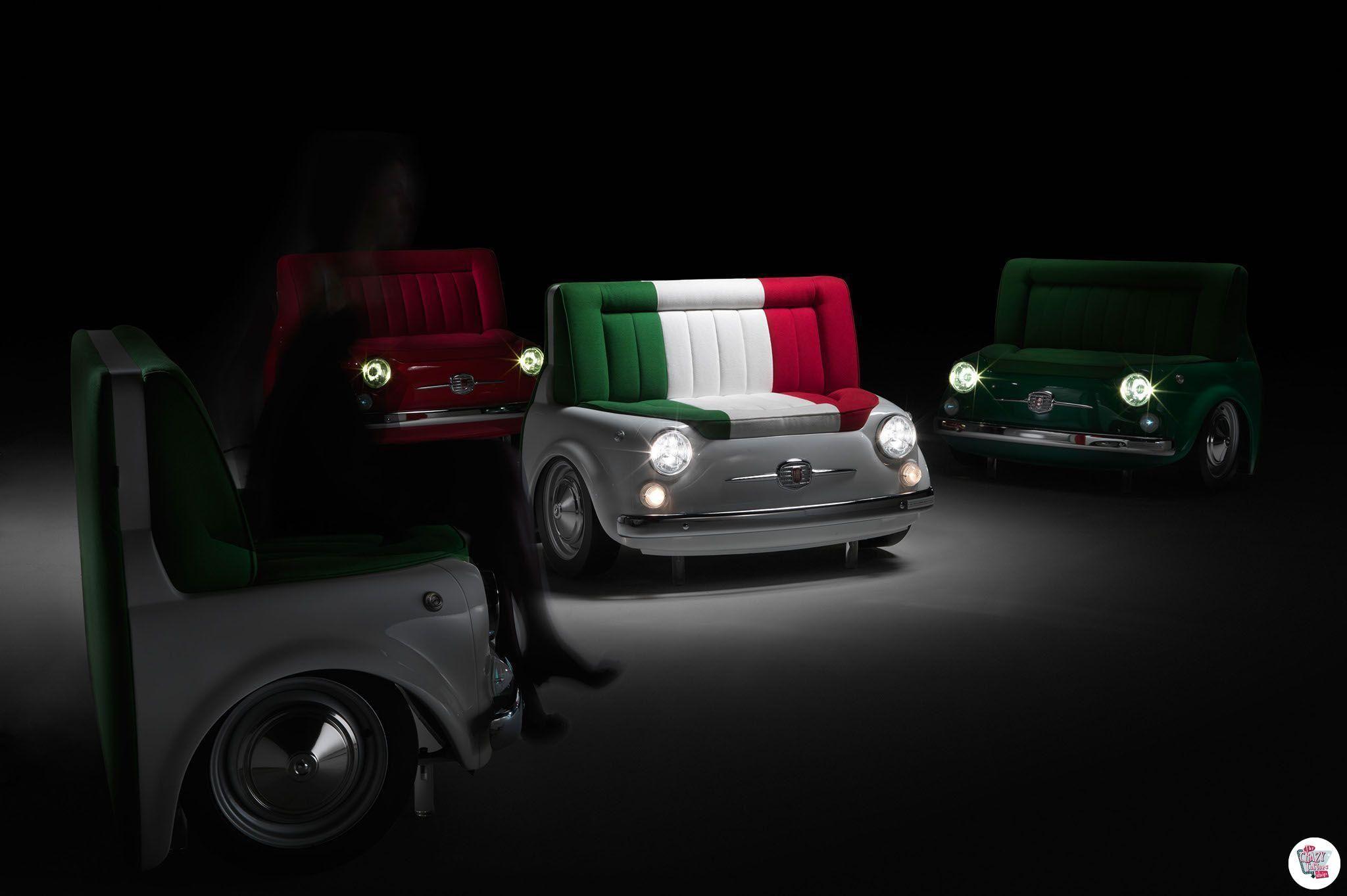 Fiat divano 500 Panorama