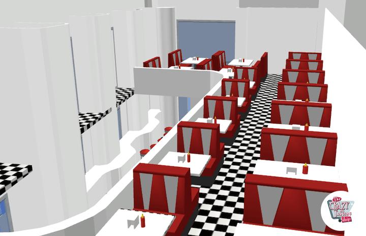 Montar un Restaurante Americano (American Diner)