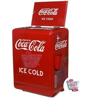 Antigua Nevera coca-cola