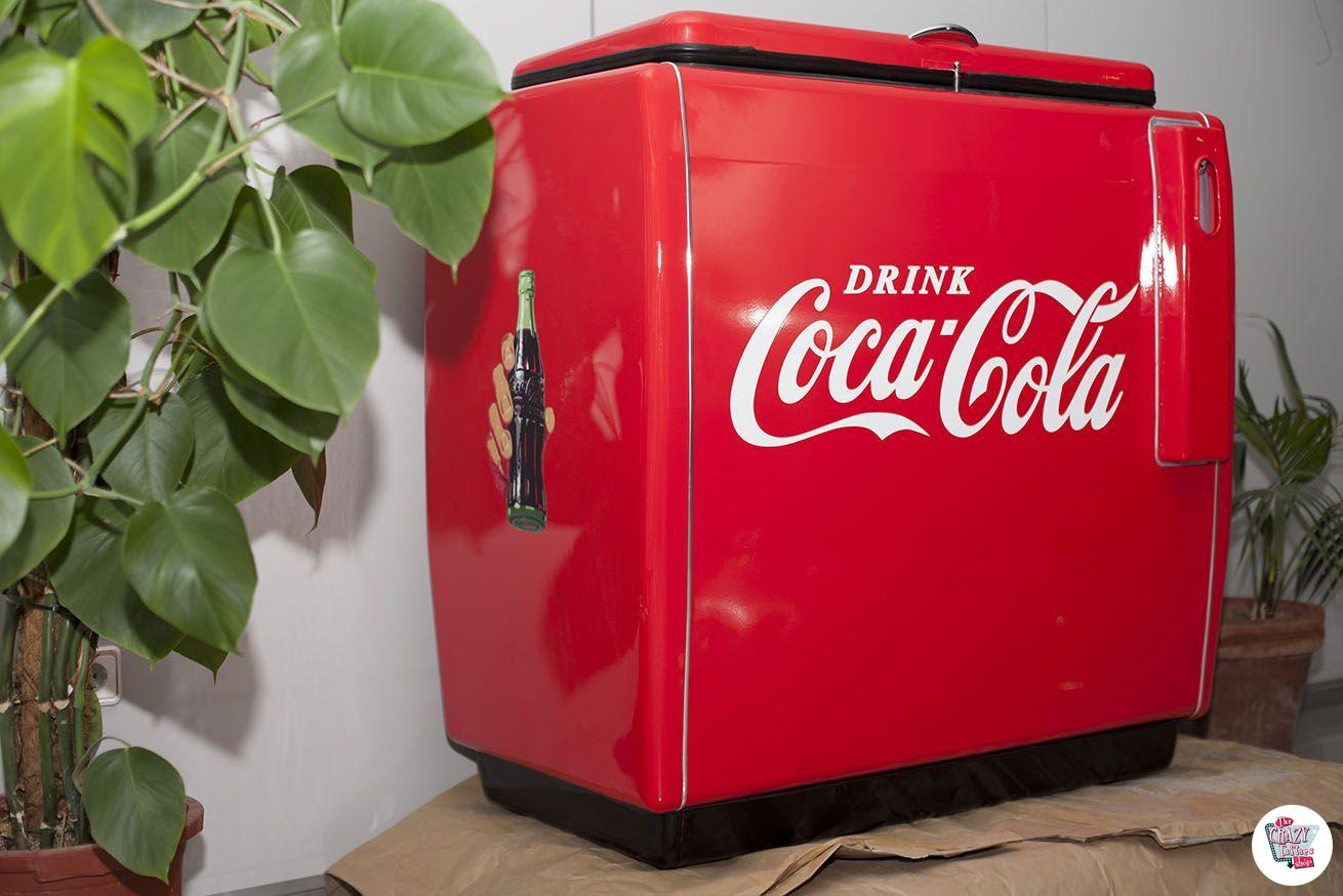 Kühlschrank Coco Cola : Retro kühlschrank coca cola thecrazyfifties