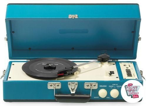 Turntable cr40 blue plus