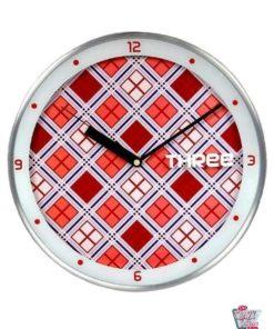 Reloj Retro Cocina 50s Cuadros