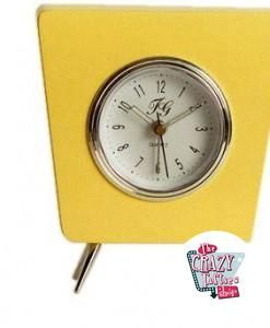 Reloj Retro Crazy Amarillo