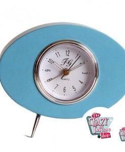 Retro Blau Crazy Clock