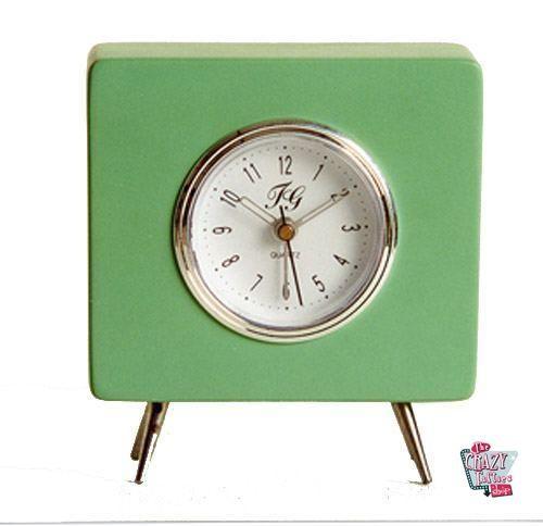 Reloj Retro Crazy verde
