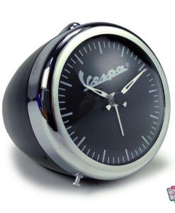 Retro Clock Black Vespa Faro