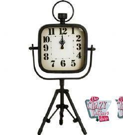 Vintage schwarze Desktop Clock