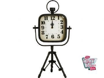 Relógio preto desktop Vintage