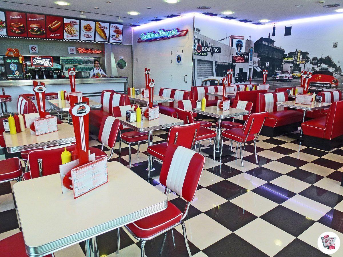 Cadillac Burger retro american chairs CO24