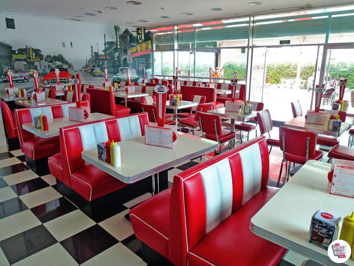 Retro American Diner Table TO22W