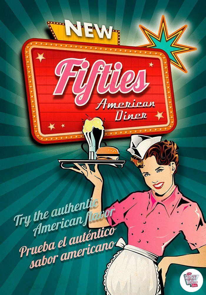 Fifties american diner Mallorca