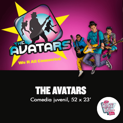 The-Avatars, the crazy fifties