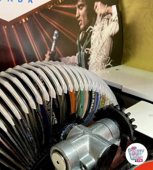 Carrousel Jukebox Rock-ola Elvis en édition limitée
