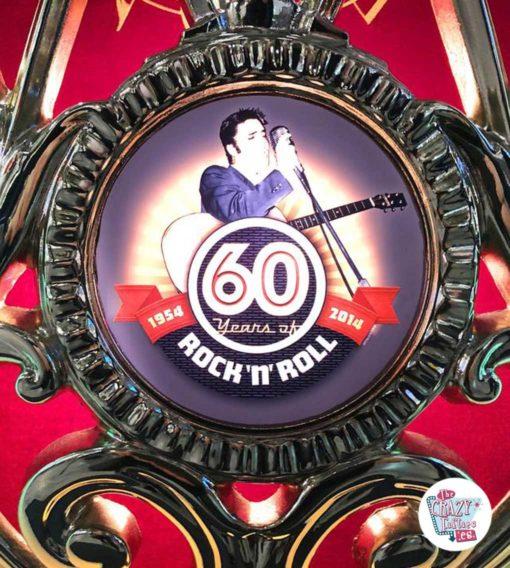 Jukebox Rock-ola Elvis édition limitée logo elvis
