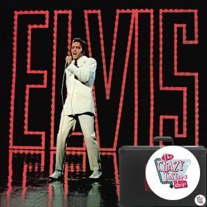 Retro platespiller Elvis Presley 1968 Limited Edition
