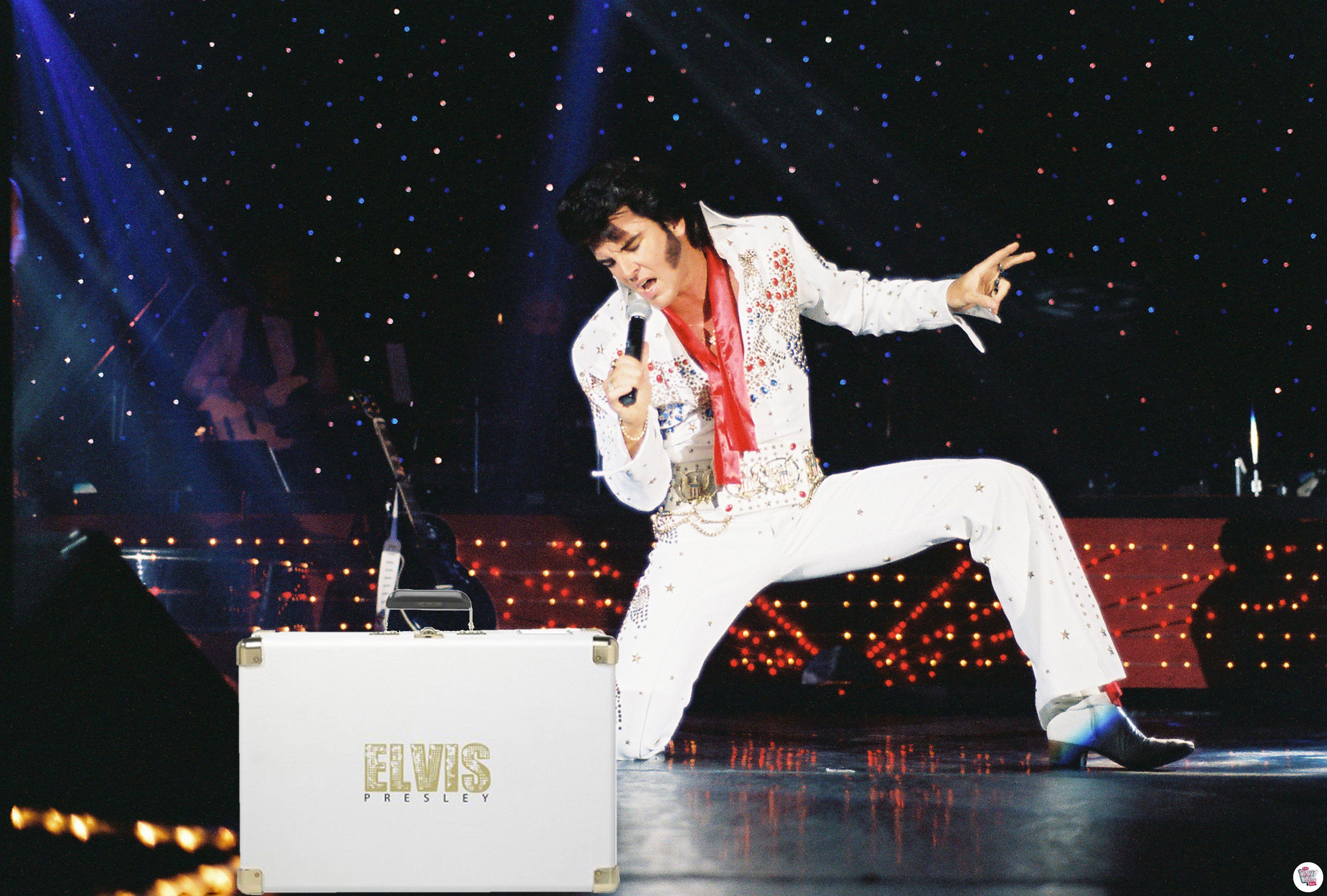 Elvis Presley Record Player 1970 187 Thecrazyfifties Es