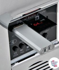 Jukebox Diner Wallbox USB