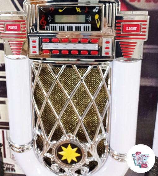 Calandre Vintage Jukebox Neon Bluetooth Route 66