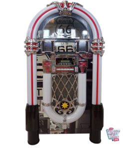 Jukebox Néon Bluetooth Route 66 Vintage