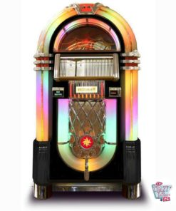 Jukebox Rock-ola CD Bubbler Deluxe Black
