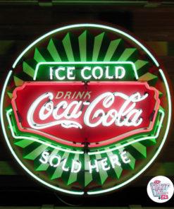 Neon Coca-Cola XL-plakat